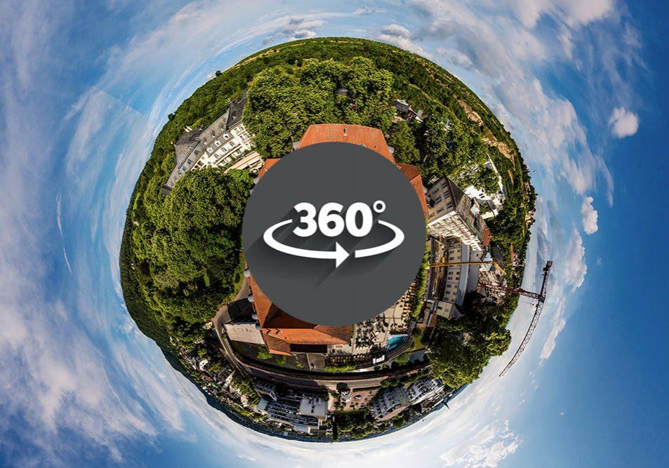 360°Panorama-Bäderhaus tiny planet thumbnail